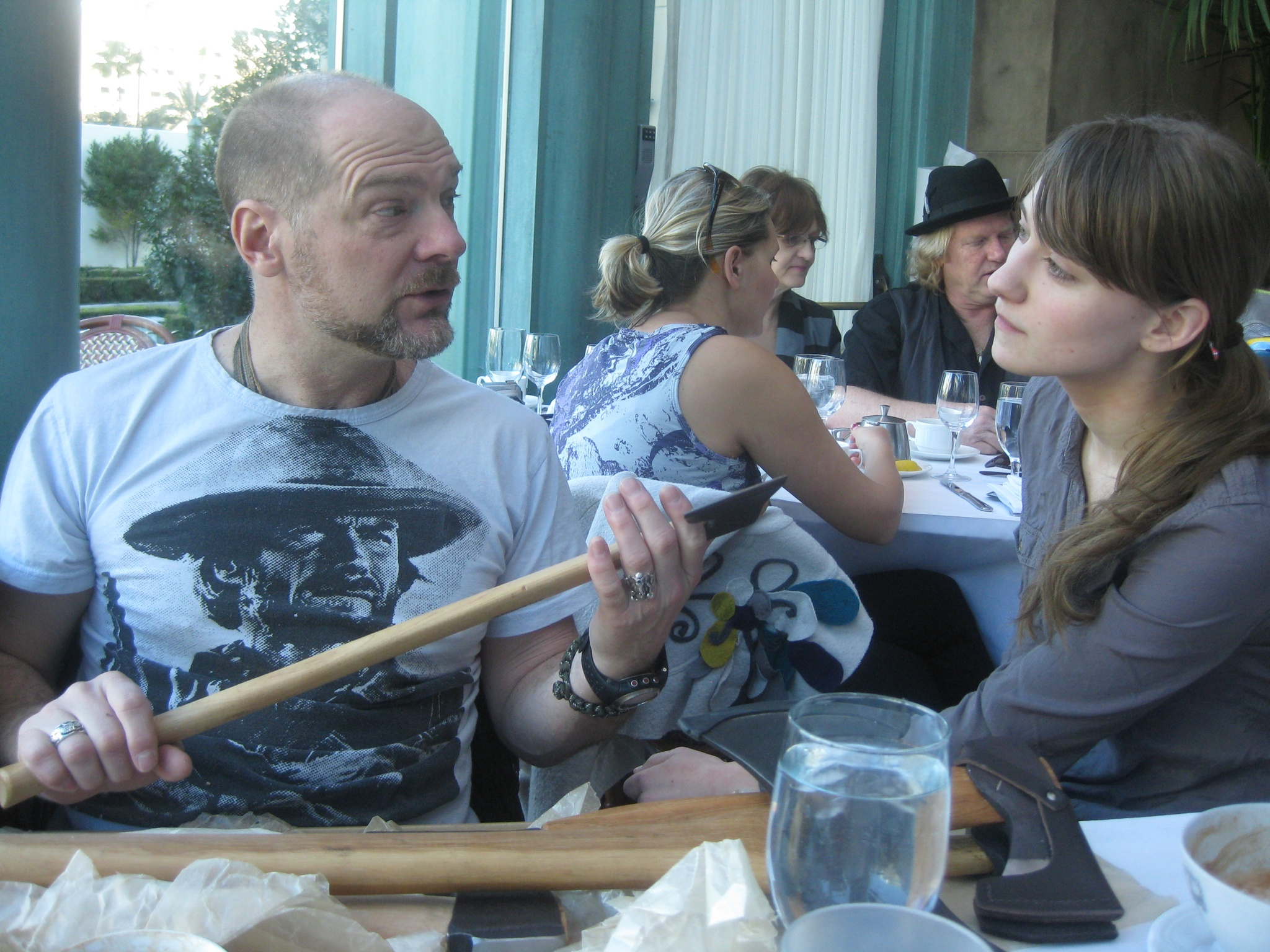 discussing axes