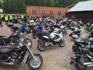 motorcyklad wetterligns